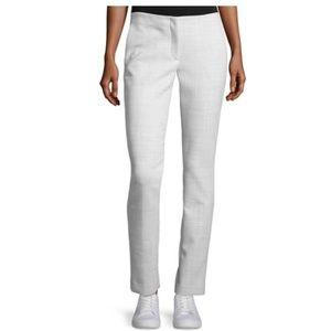 THEORY Light Gray Tennyson Pioneer Slim Leg Pant